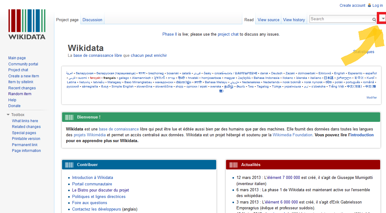 how to search in wikipedia