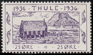 A local stamp of Greenland 1936, inscribed Thule StampThule1935Michel3.jpg