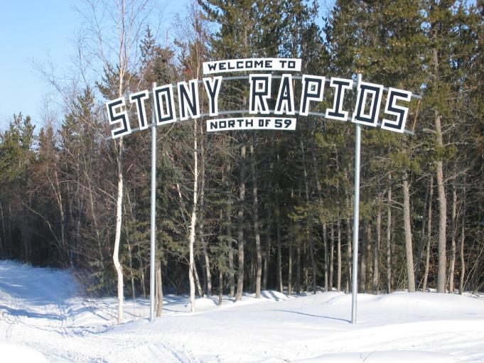 Fond Du Lac Wi >> Stony Rapids - Wikipedia