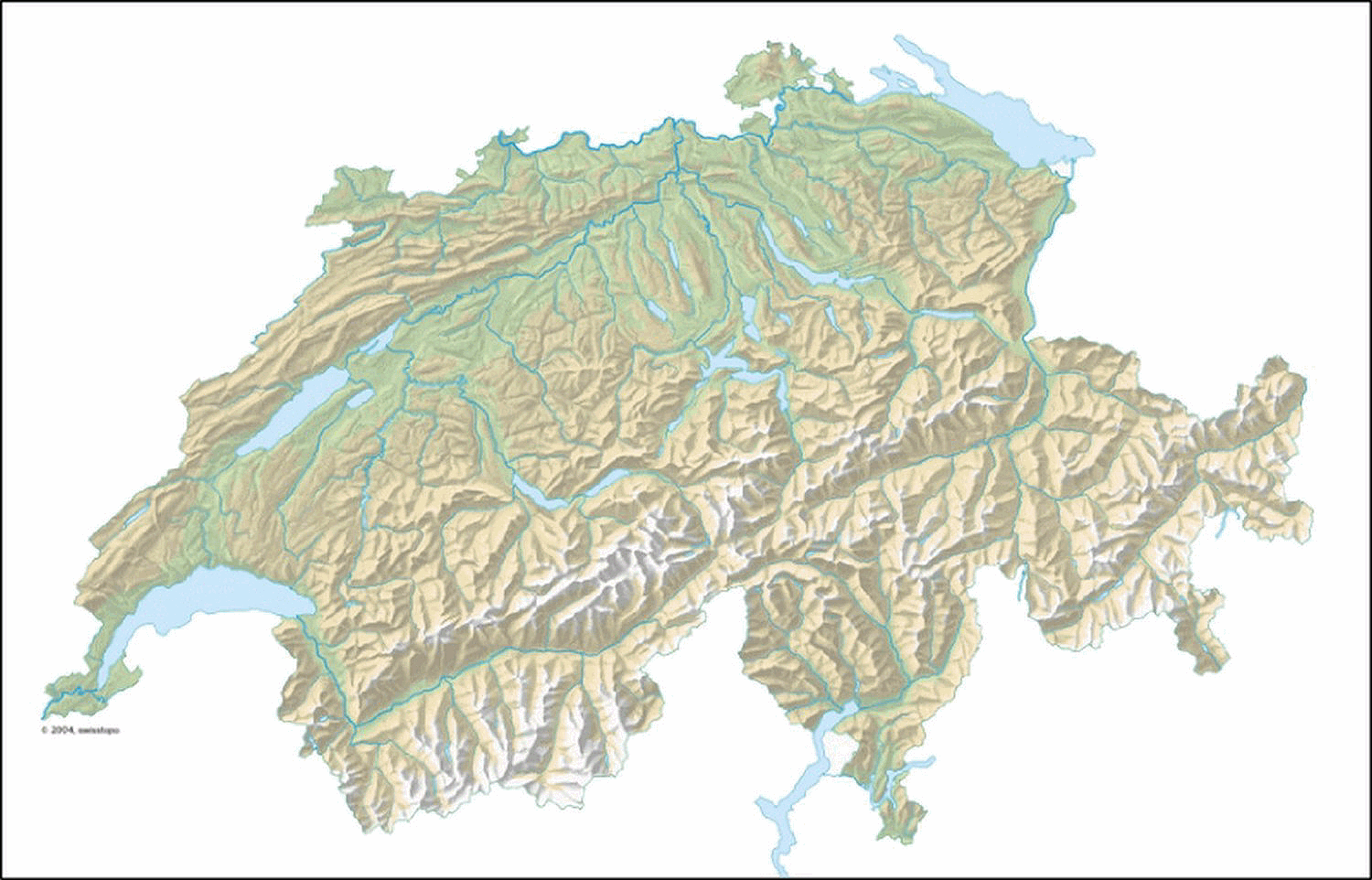 Carte Suisse.File Suisse Geographique Png Wikimedia Commons