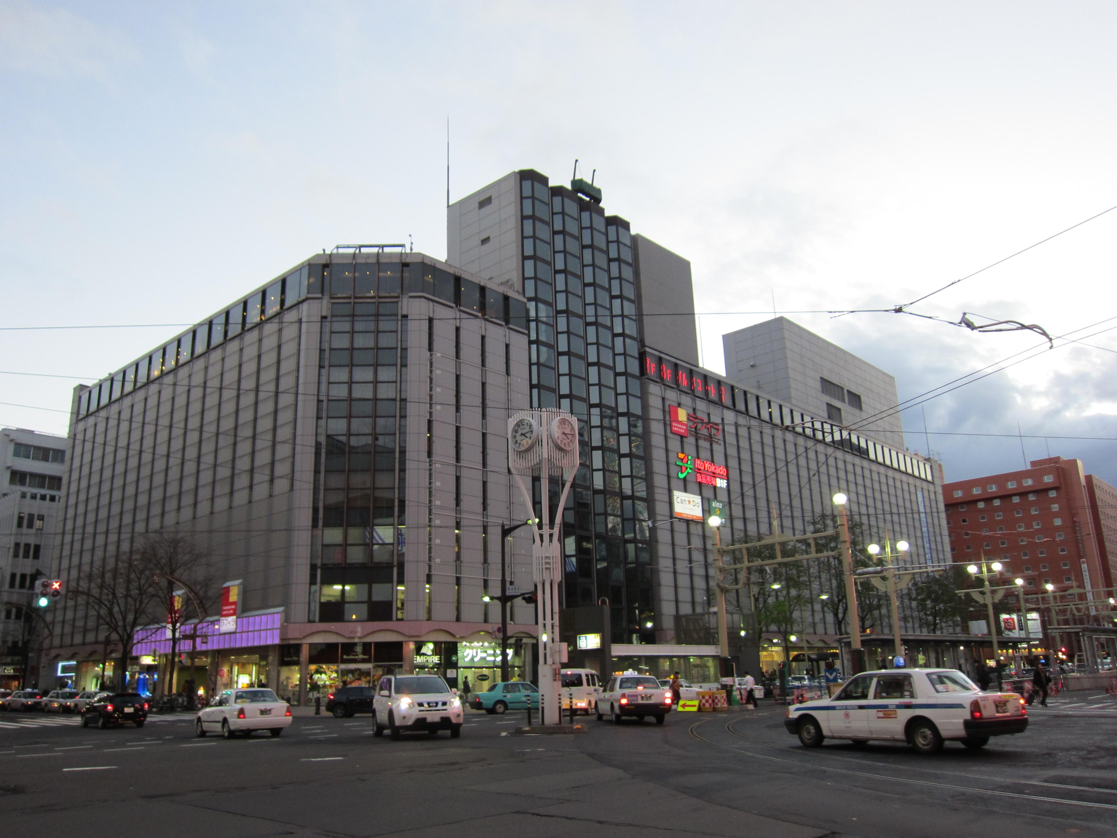 すすきの・札幌のショッピングスポット ススキノラフィラ