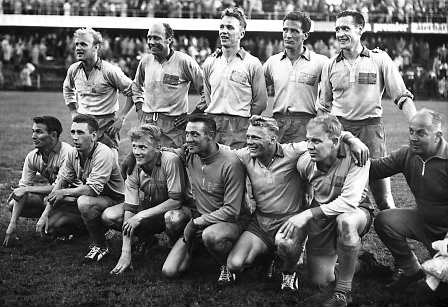 Sweden won the silver medal at the 1958 World Cup.