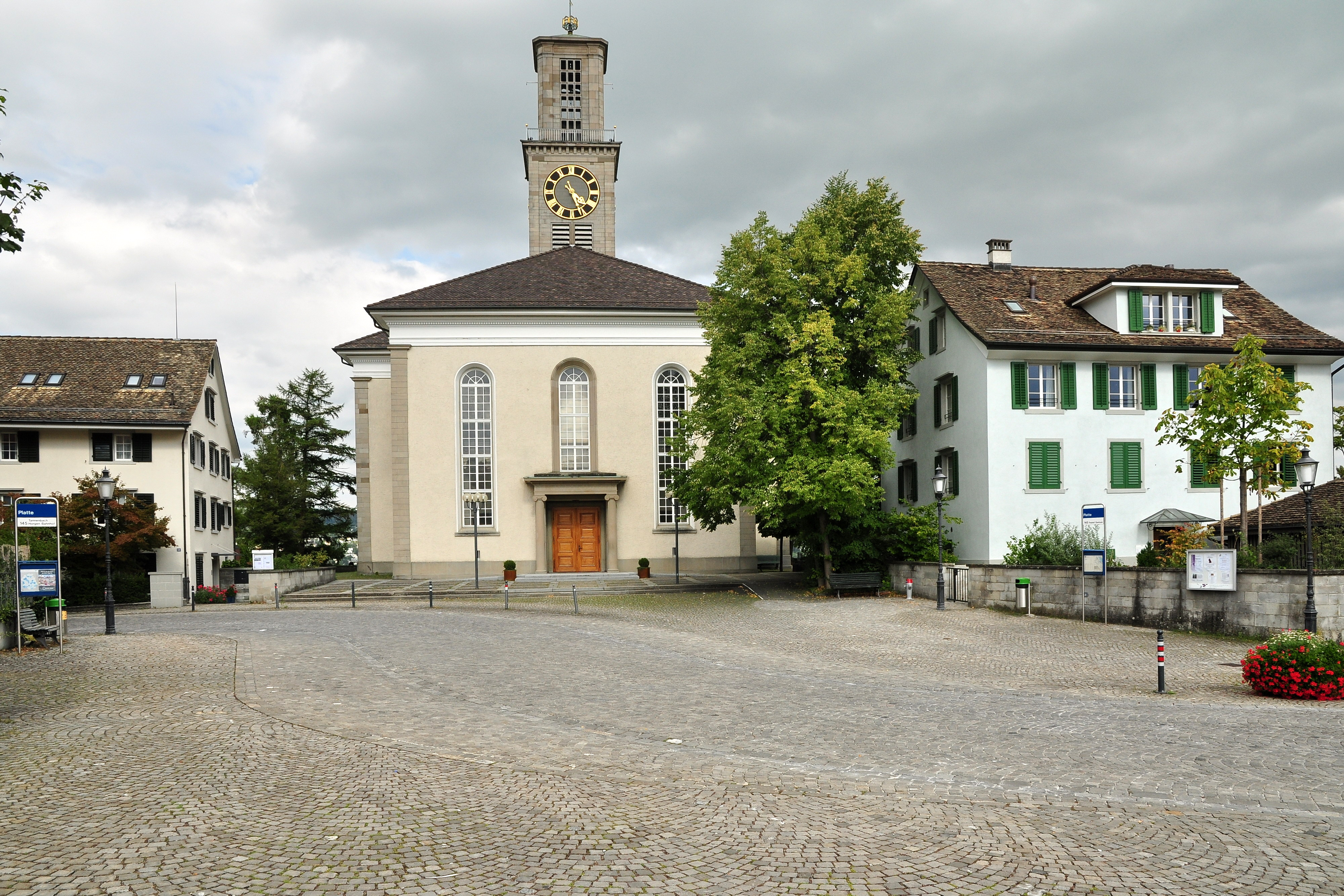 Thalwil Switzerland  city pictures gallery : Description Thalwil Reformierte Kirche Alte Landstrasse 2011 08 29 ...