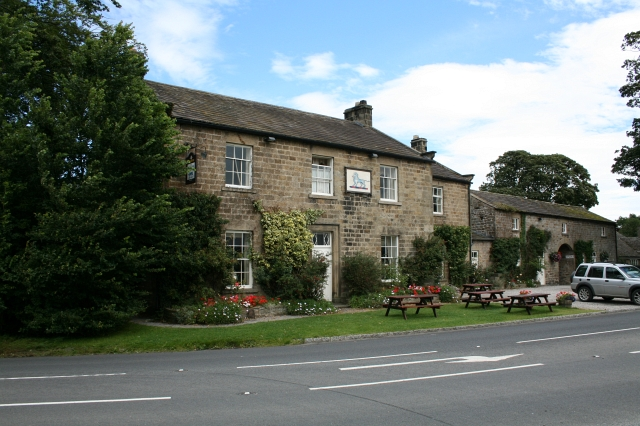 The Blue Lion at East Witton. - geograph.org.uk - 527400