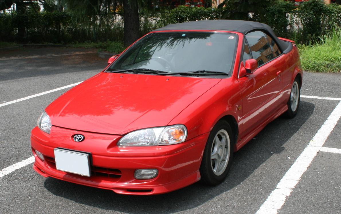2代目トヨタ サイノス コンバーチブル