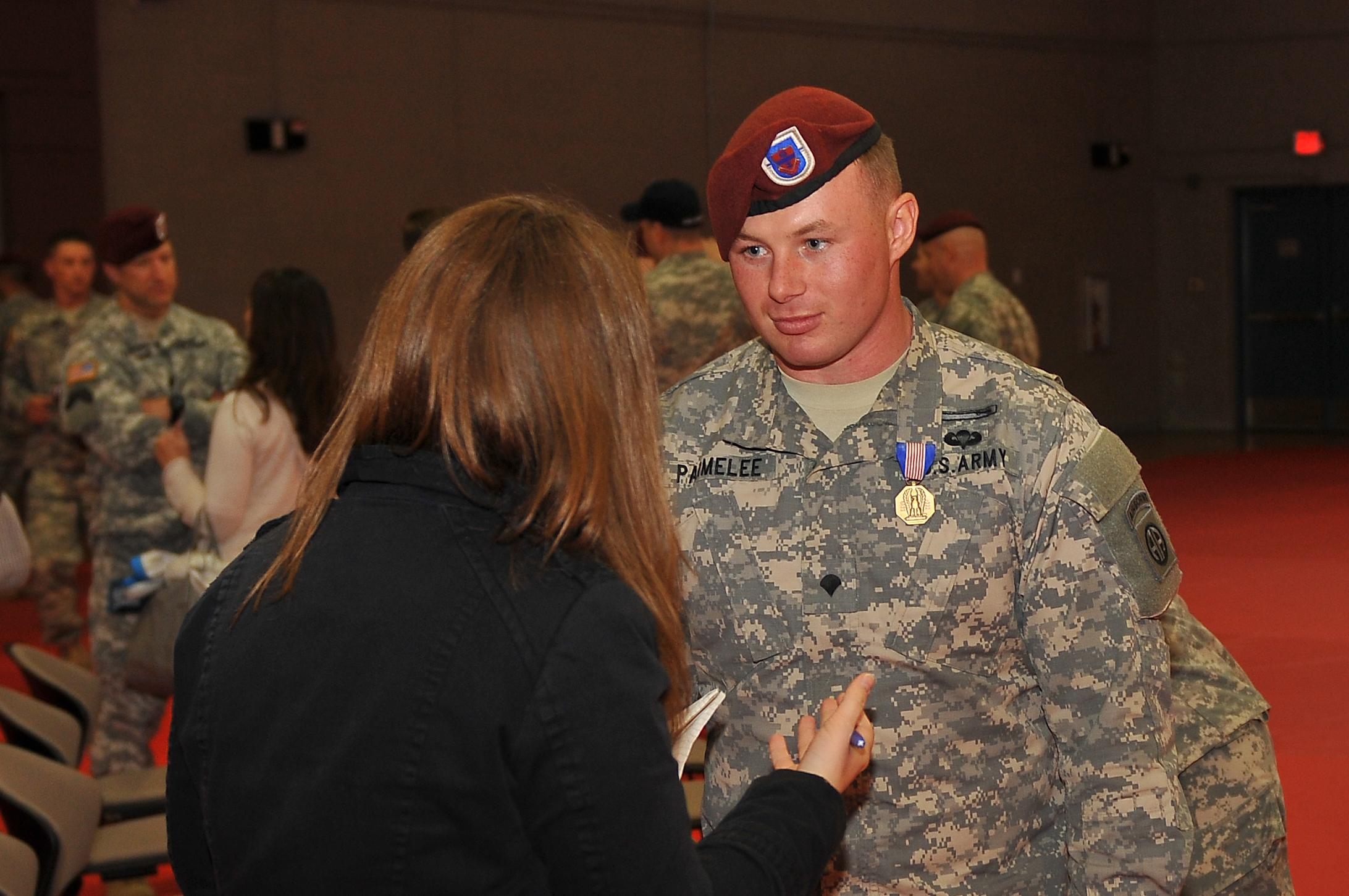File:U.S. Army Spc. Michael D. Parmelee, an infantryman ...