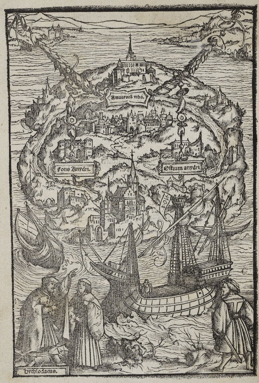 the influence of the 14th century crises on thomas mores utopia Thomas more's utopia was humanism in renaissance literature both erasmus and more were admirers of the greek satirist lucian and in its introductory sections utopia is loaded with the kind of satire, irony and word play one might associate with that ancient.
