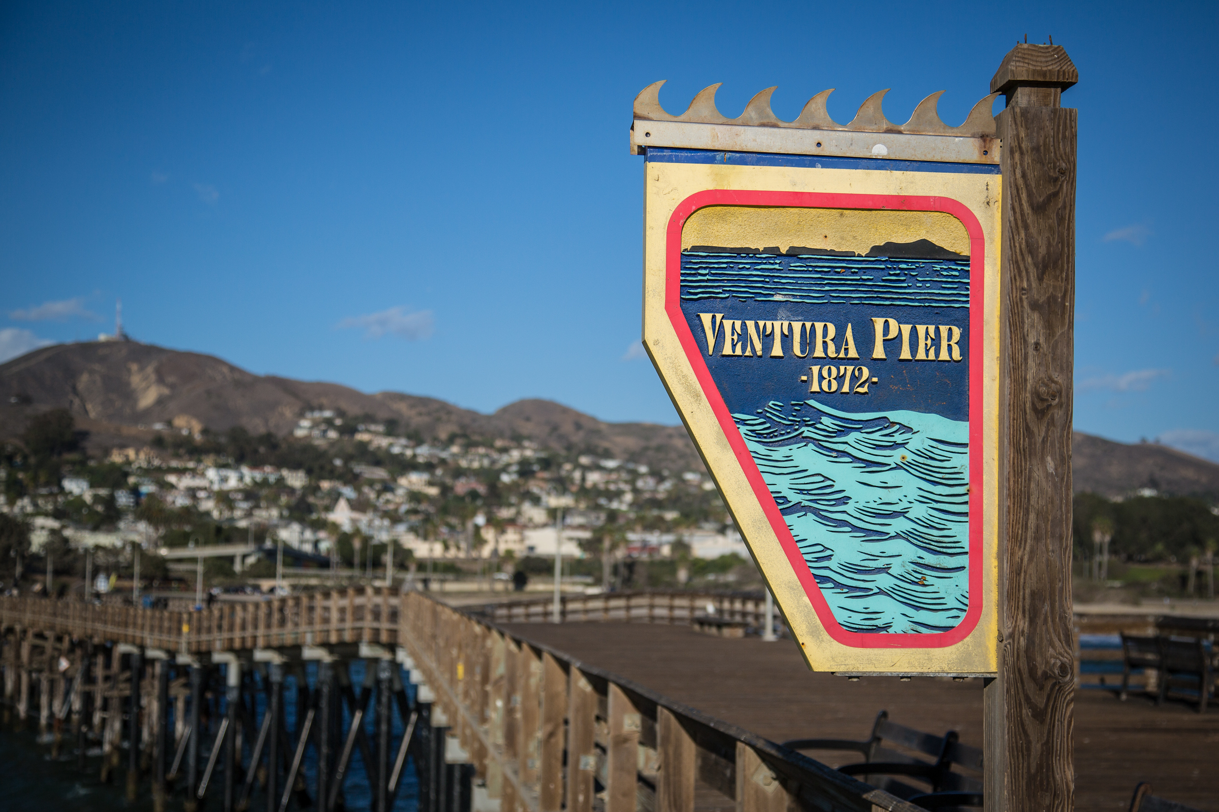 Ventura pier | Ventura Beach Sights | Pinterest