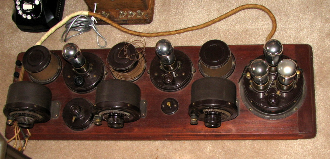 file vintage atwater kent breadboard radio circa 1920s 9178625618