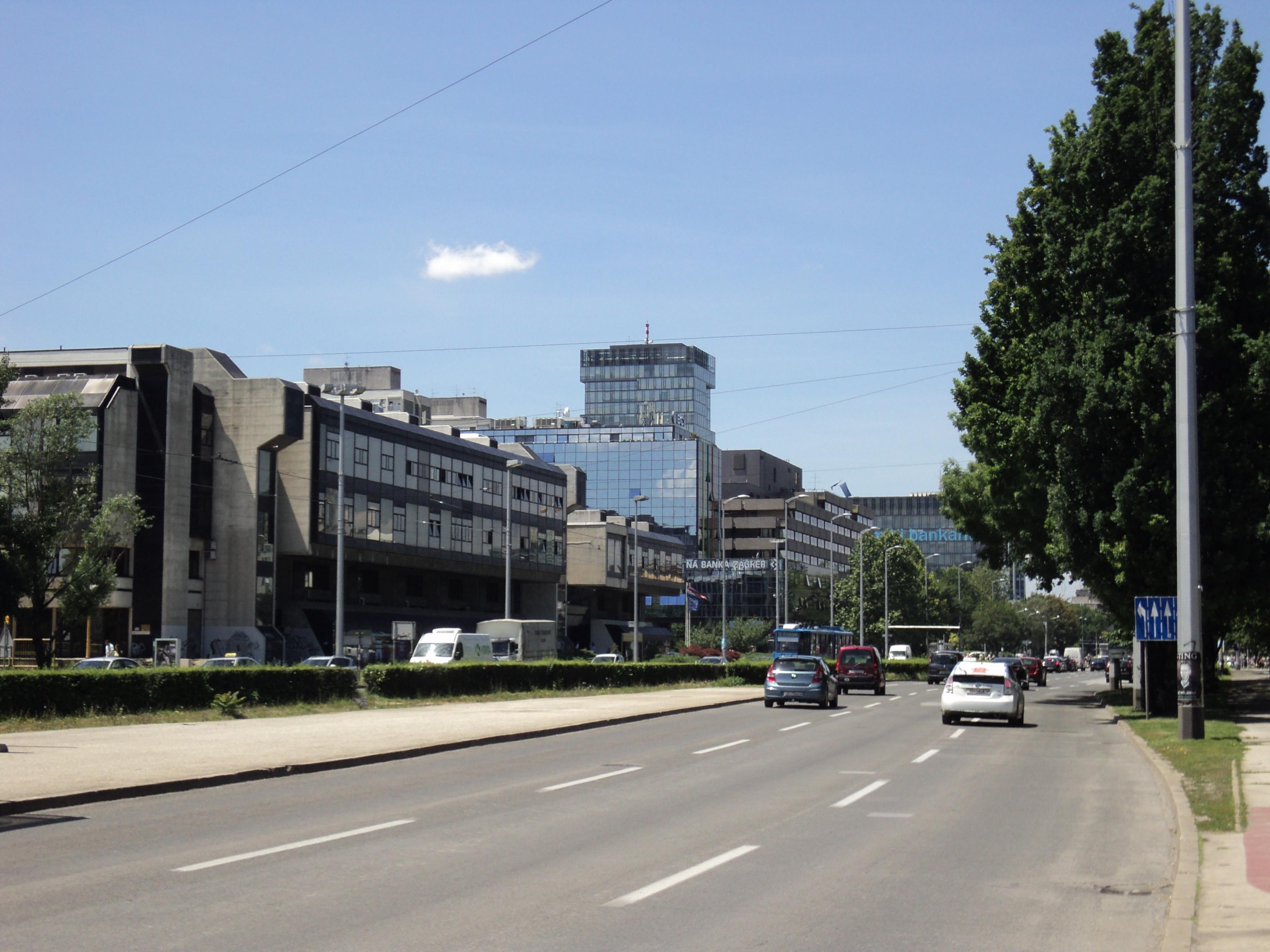 Ulica Grada Vukovara Zagreb Wikipedija