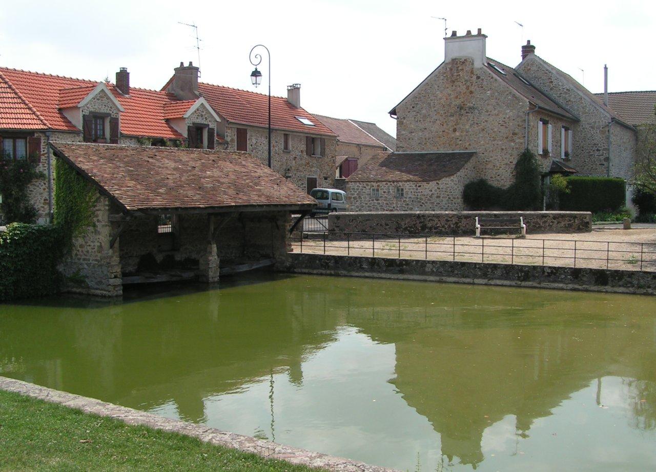 Le lavoir de Villeziers