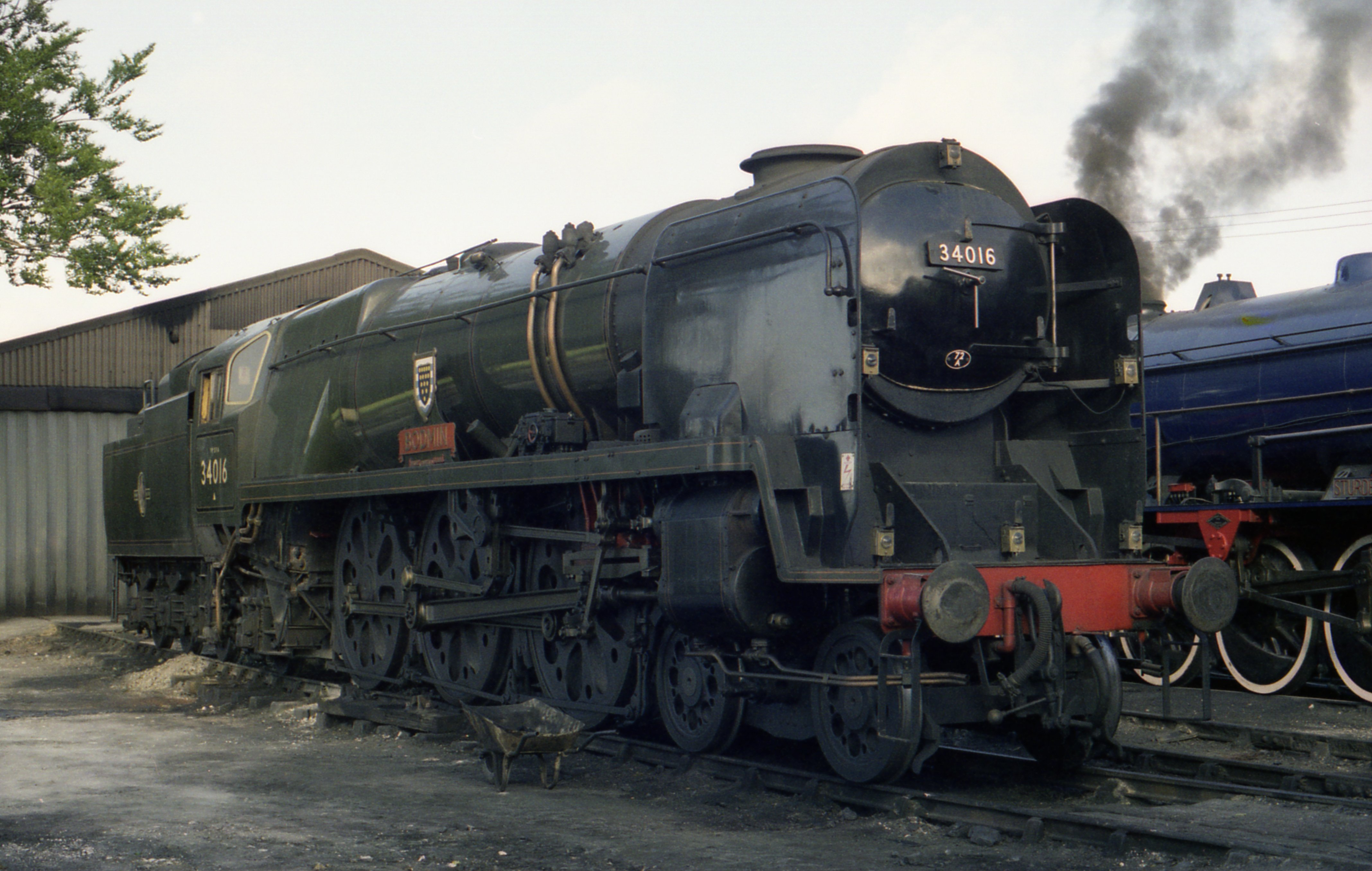 File West Country Class Pacific No 34016 Bodmin At Ropley