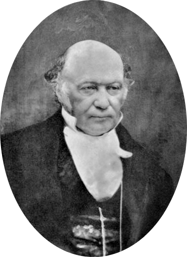 William Rowan Hamilton portrait oval combined