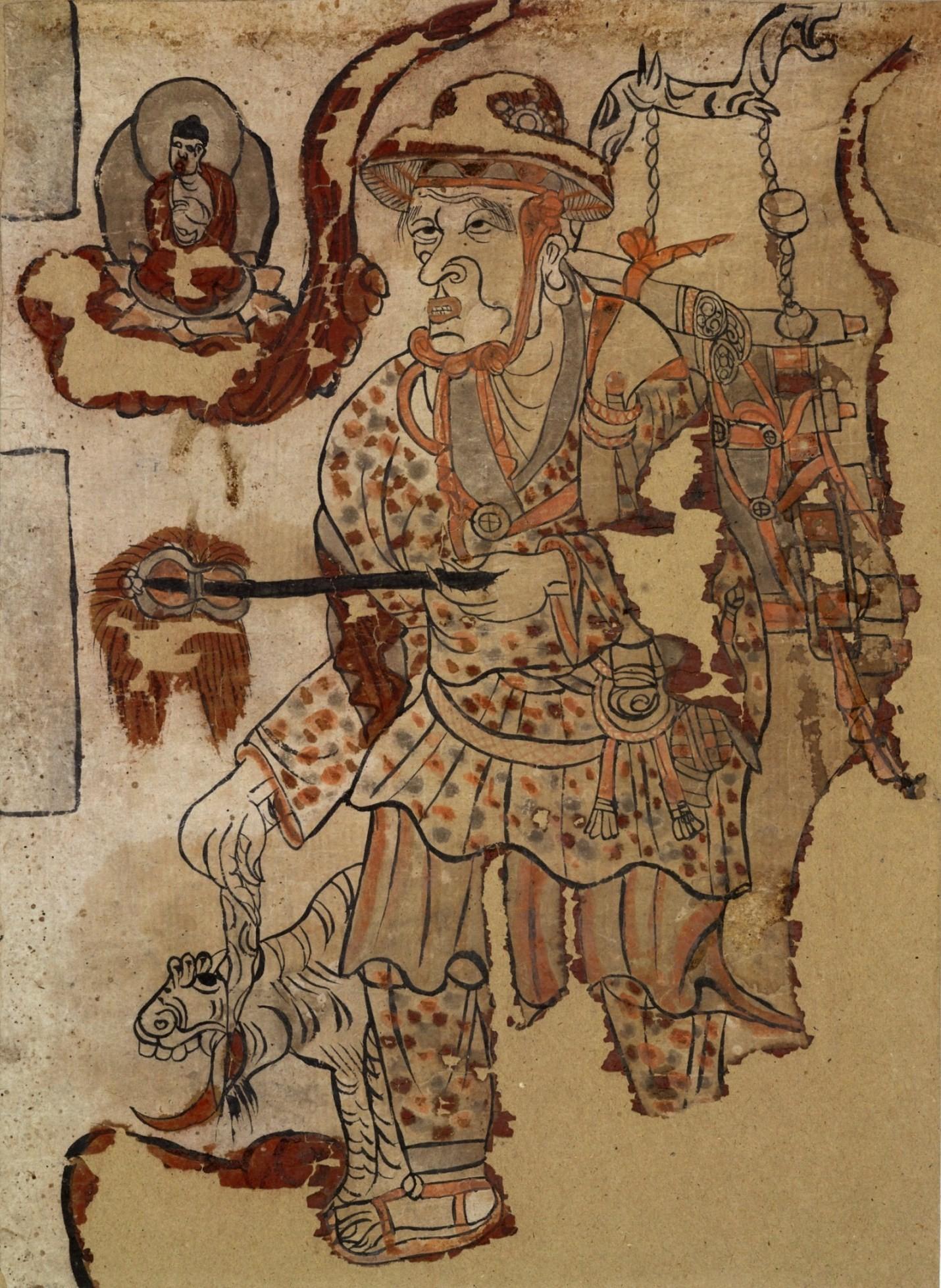 Depiction of Xuanzang