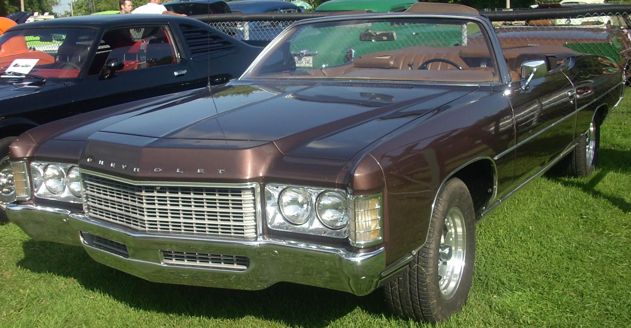 Chevrolet Impala Wikipedia 1968 Caprice 2 Door Cabriolet Serie 164 1971