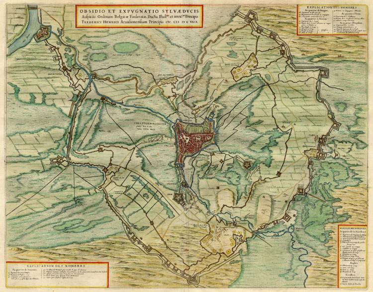 's Hertogenbosch 1649 Blaeu'''