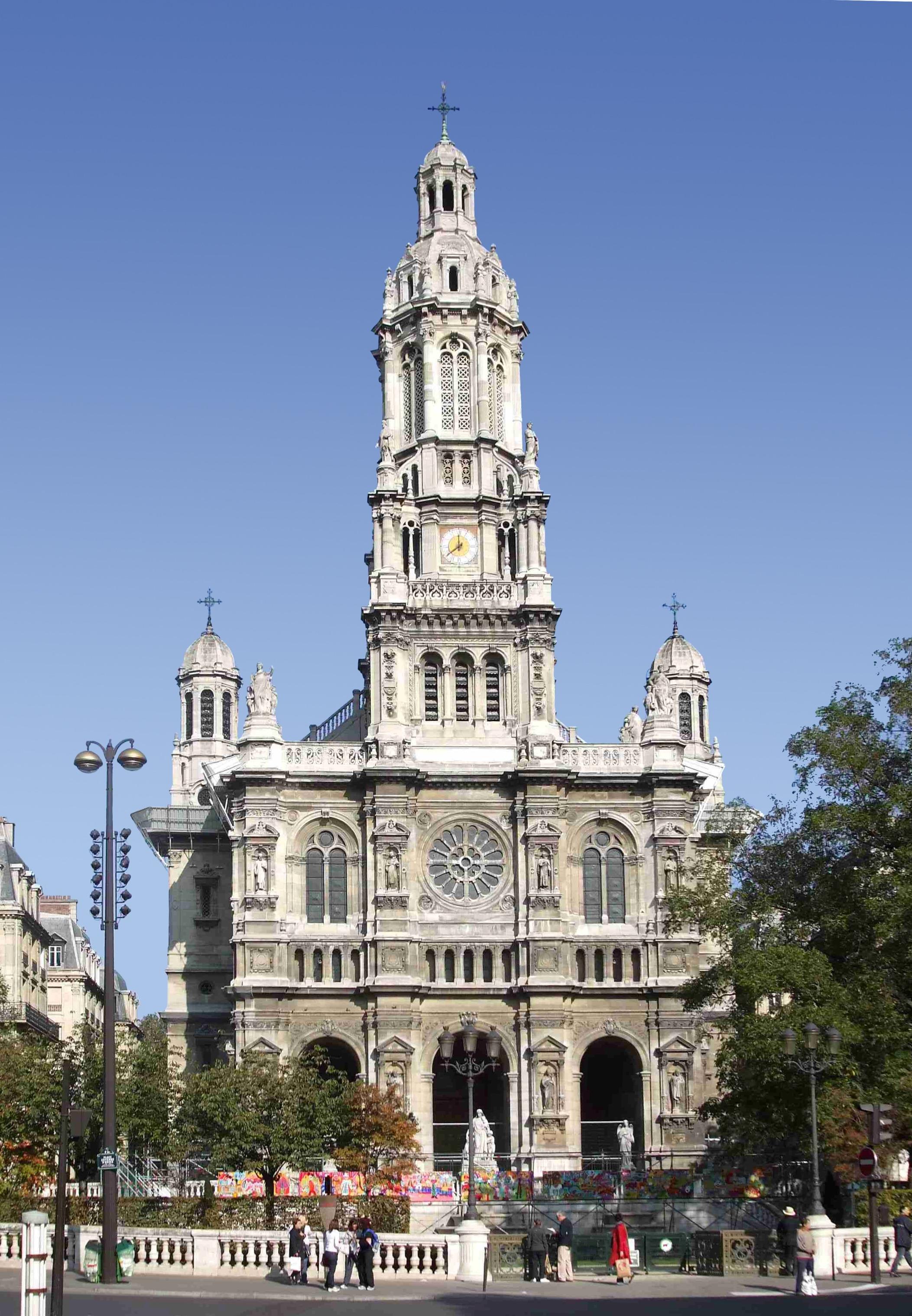 File:Église de la Sainte-Trinité de Paris Face.JPG ...