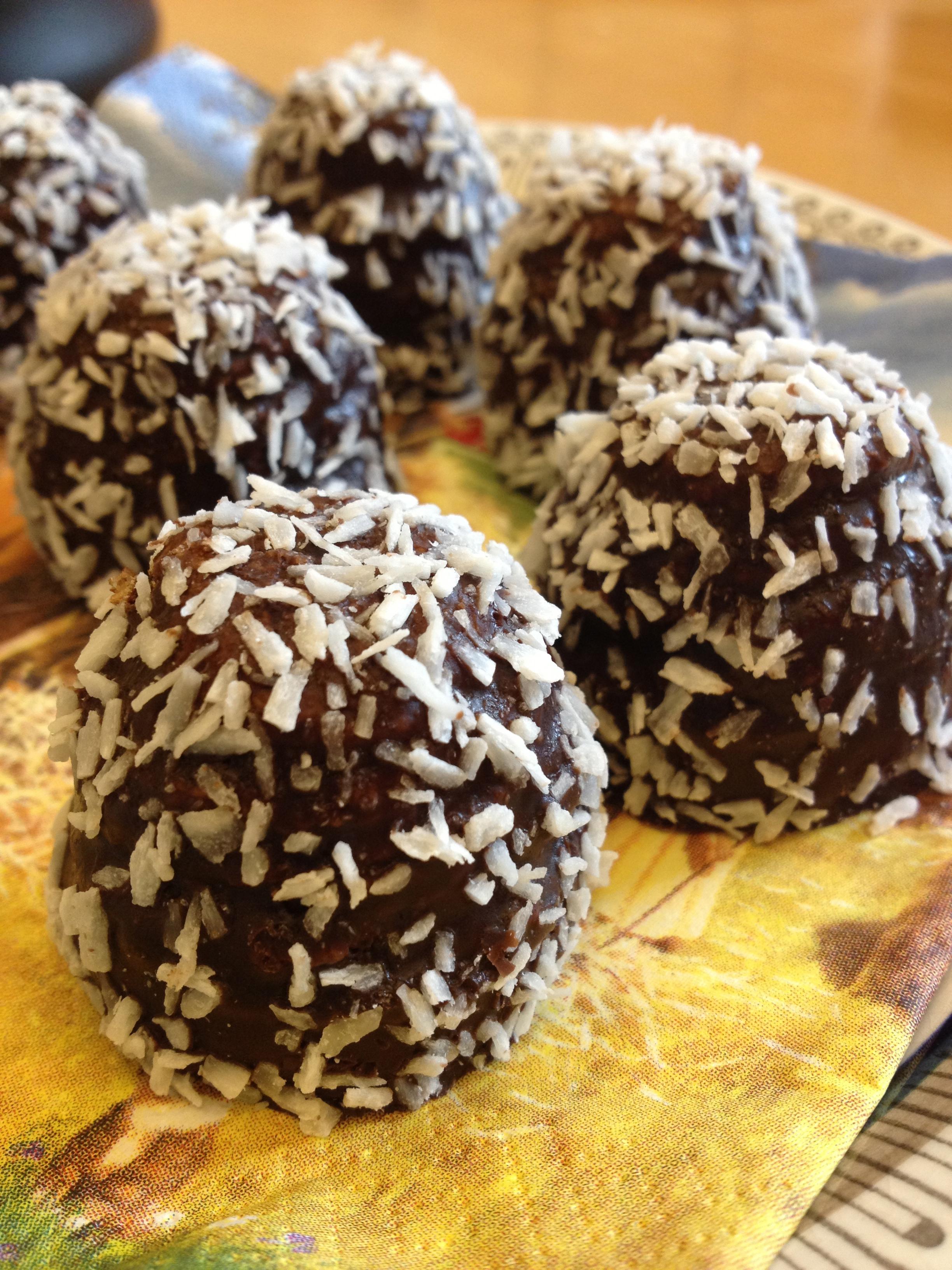 chokladbollar recept engelska
