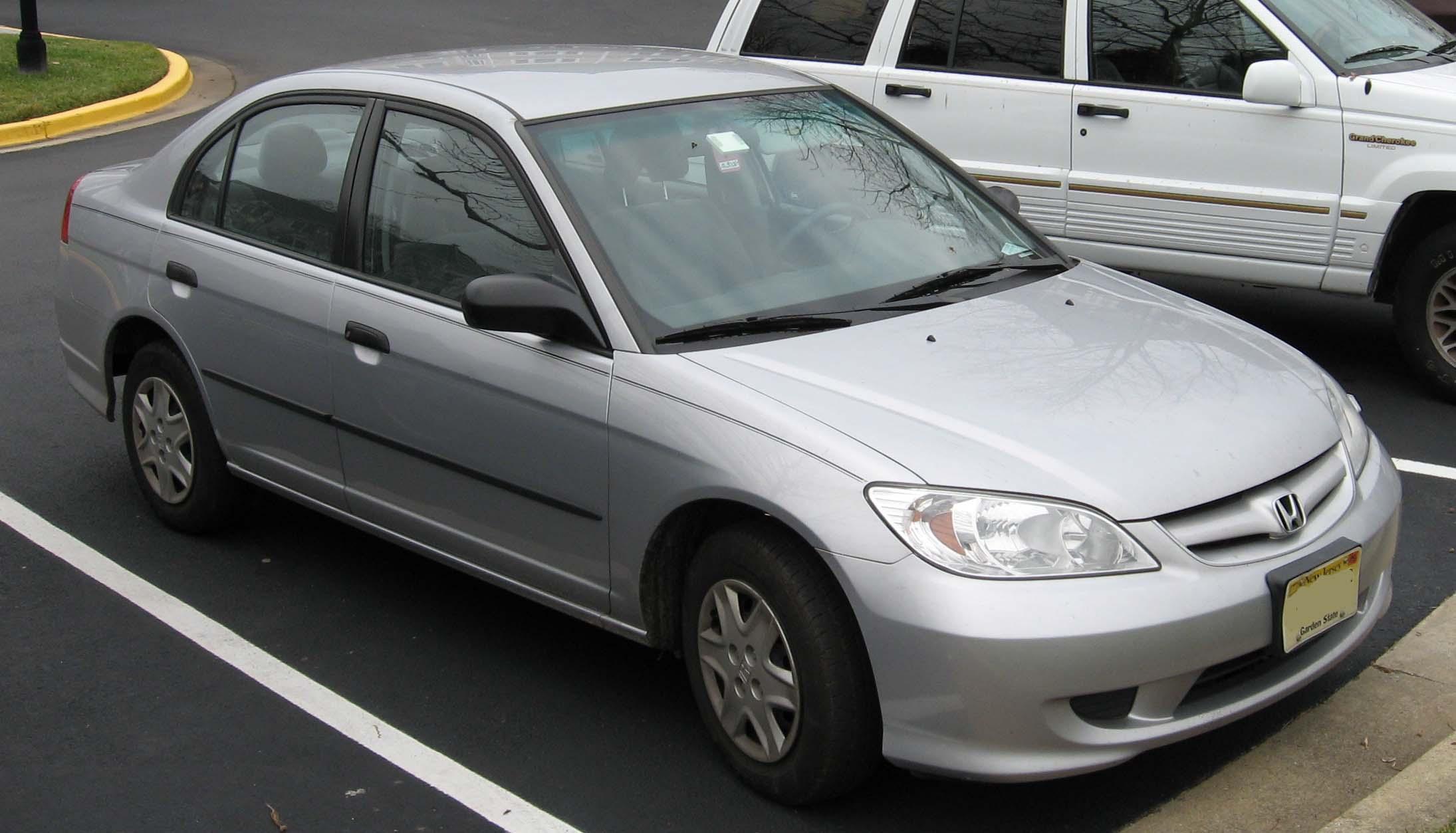 File 04 05 Honda Civic Sedan Jpg Wikimedia Commons