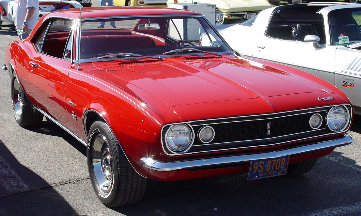 File 1967 Chevrolet Camaro Red Fa Sy Jpg Wikimedia Commons