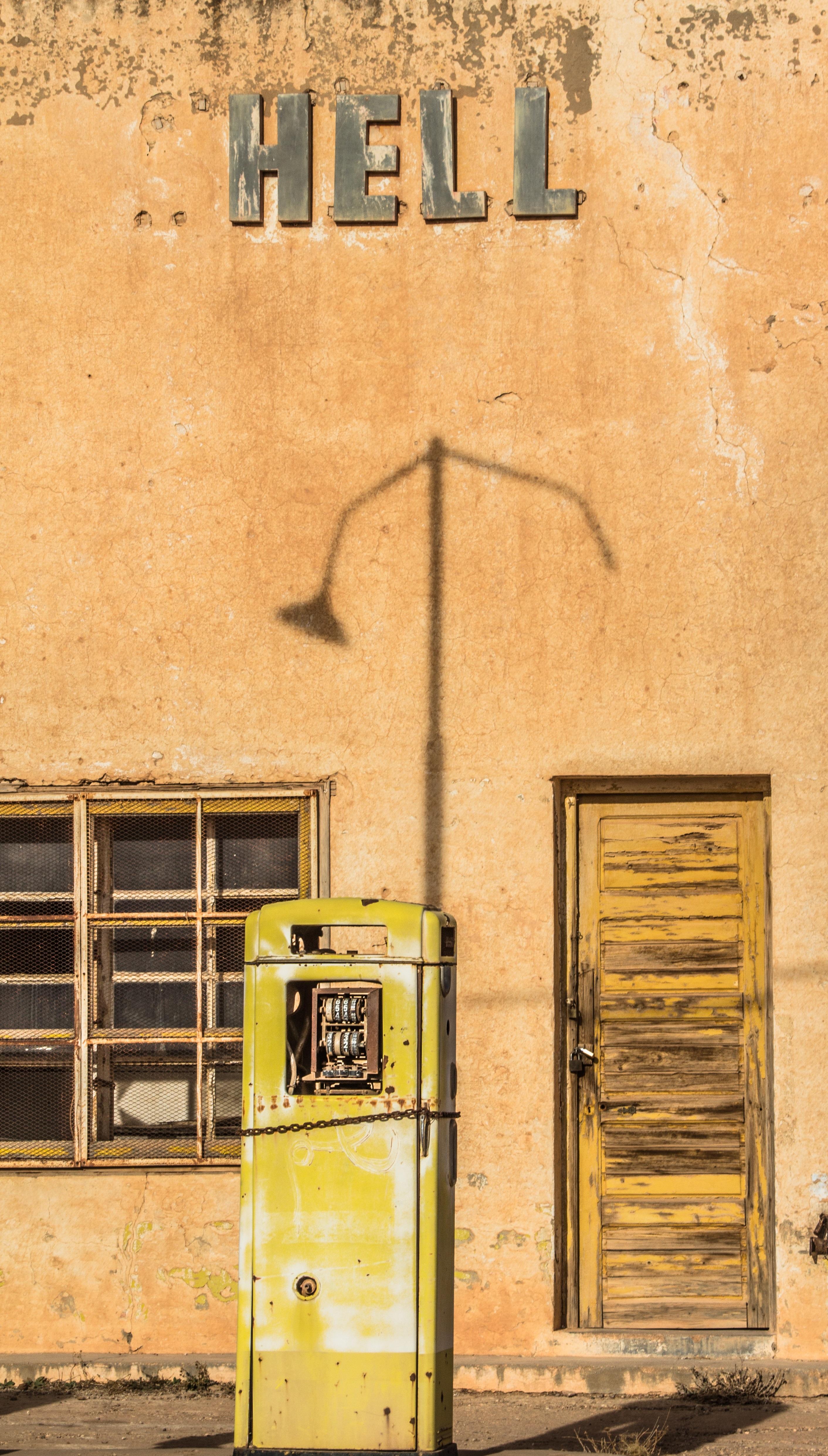 File Abandoned Gas Station In Sidi Boubker Village Jerada Morocco By Brahim Faraji Jpg Wikimedia Commons