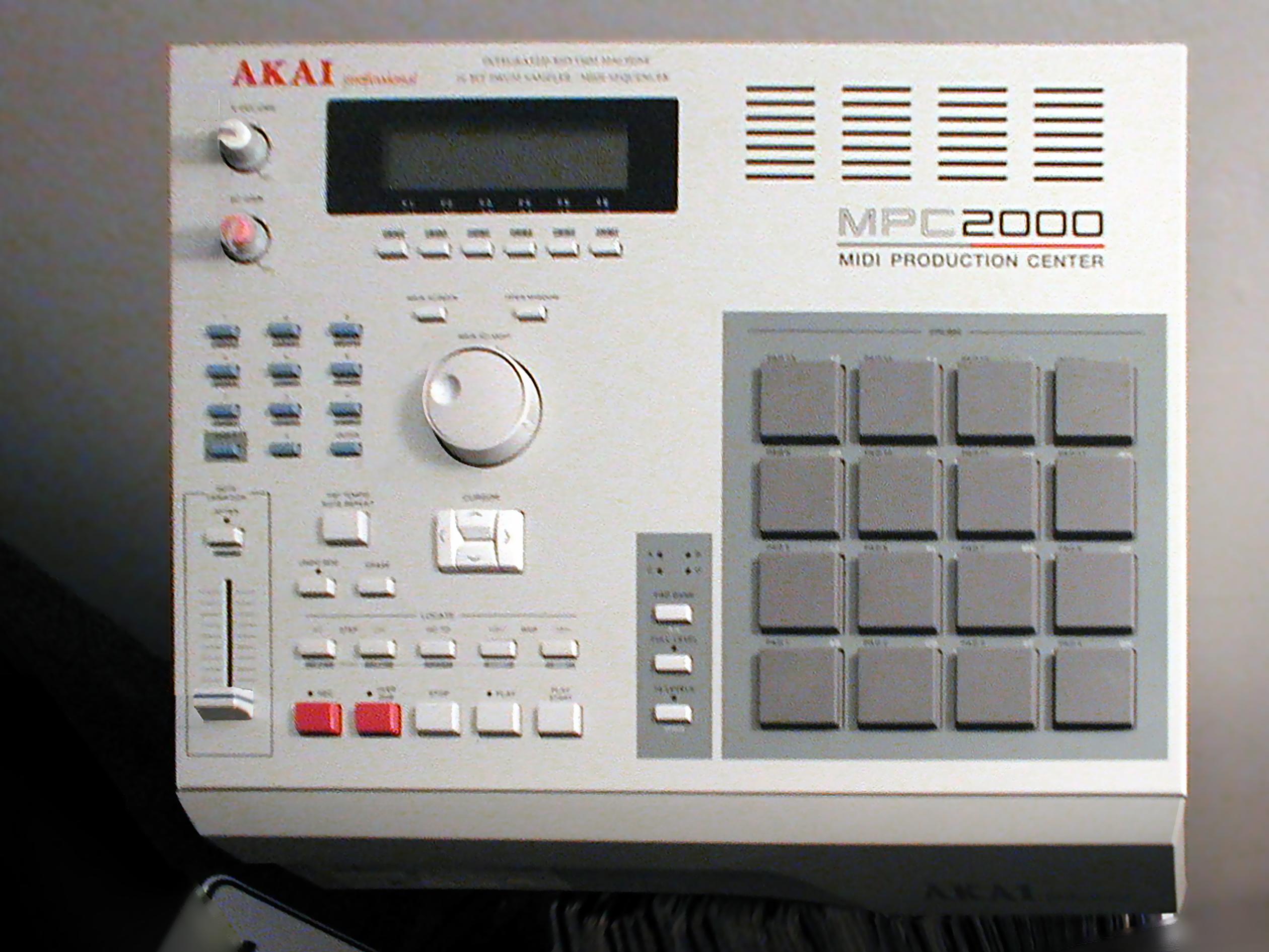 Akai mpc2000 midi production center essay
