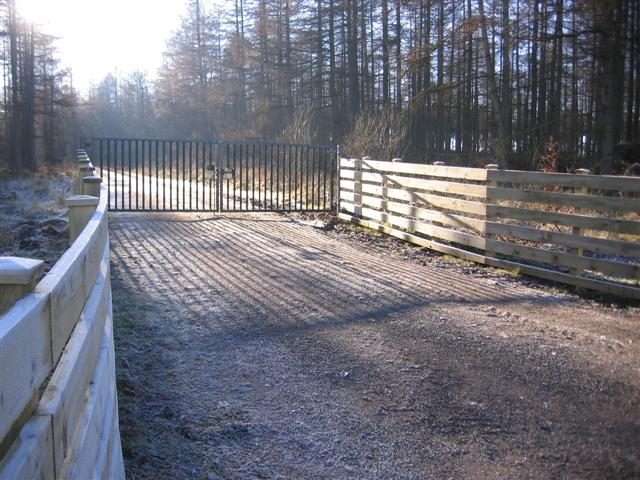 An entrance to Greystoke Forest. - geograph.org.uk - 114474