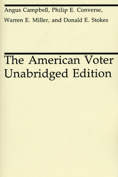 Campbell converse the american voter book