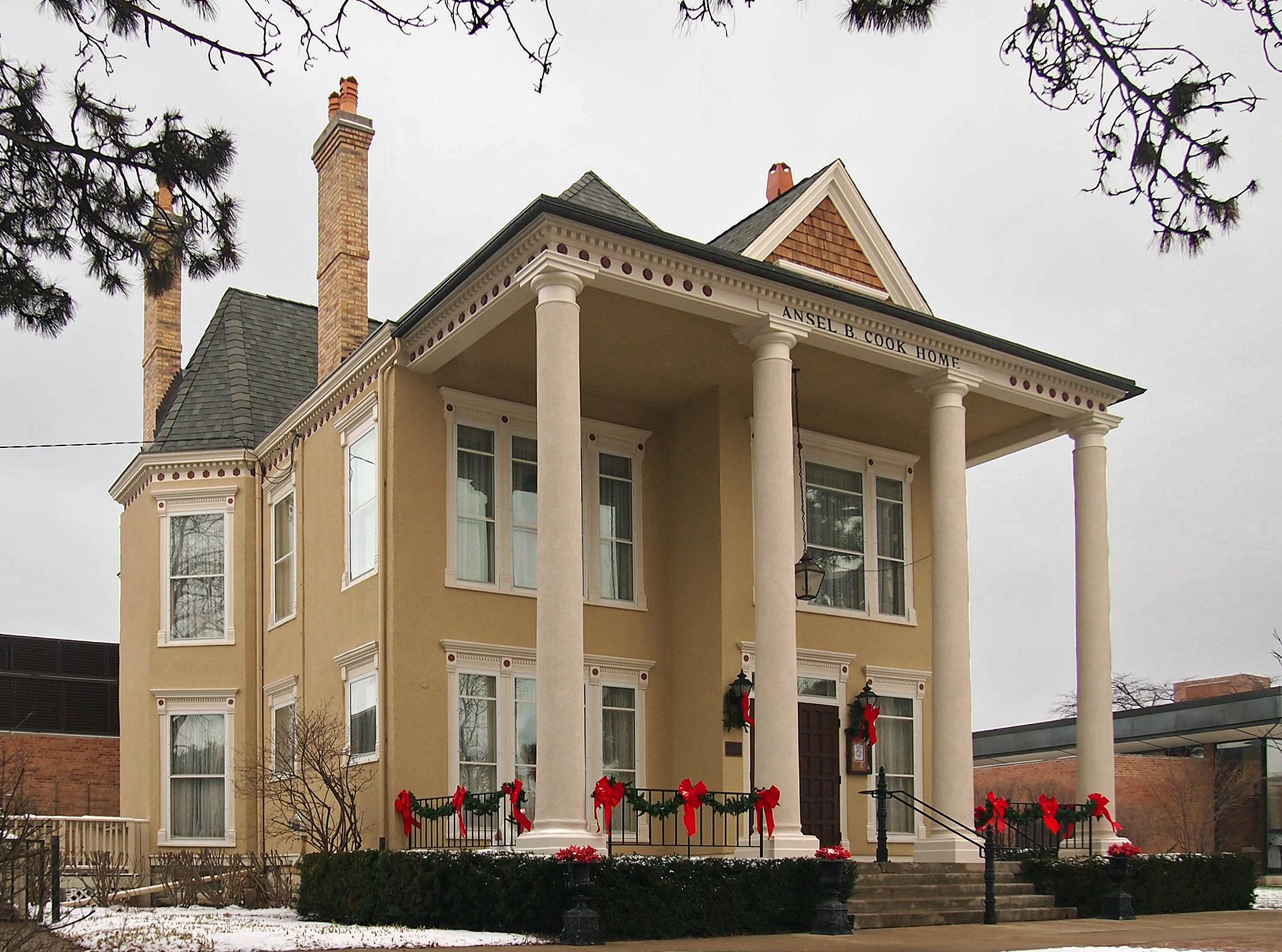 Cook Memorial Library Libertyville Illinois