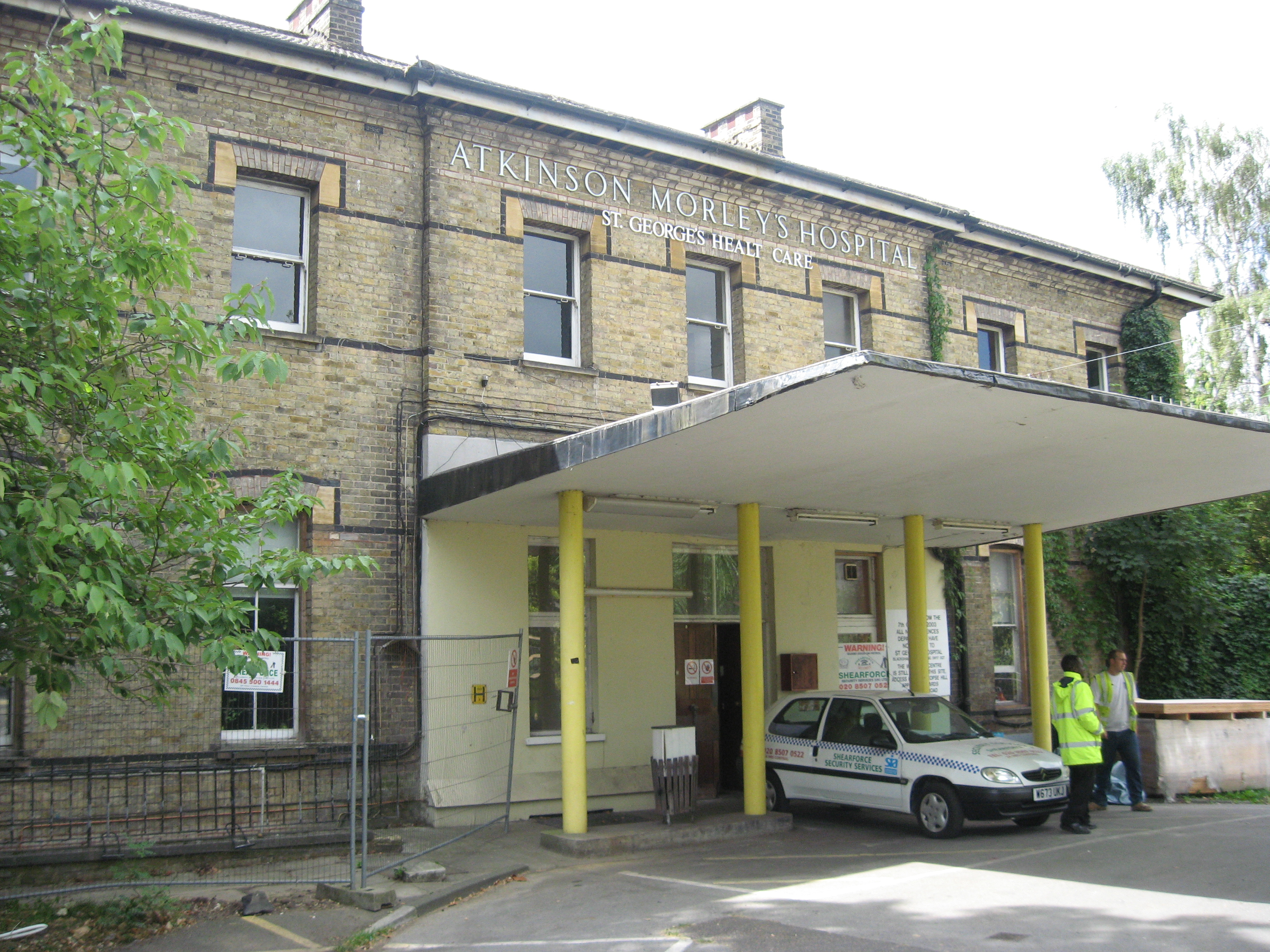 Atkinson Morley Hospital - Wikipedia