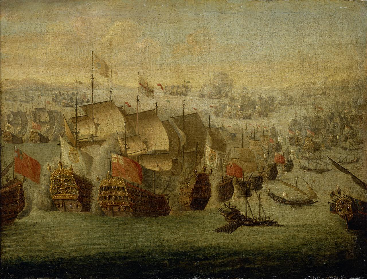 Blas de Lezo y Olavarrieta (1689-1741): un gran estratega del siglo XVIII Battle_of_Malaga%2C_1704