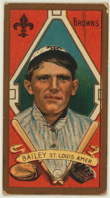 Bill bailey pitcher william f bailey april 12 1888 november 2 1926 was
