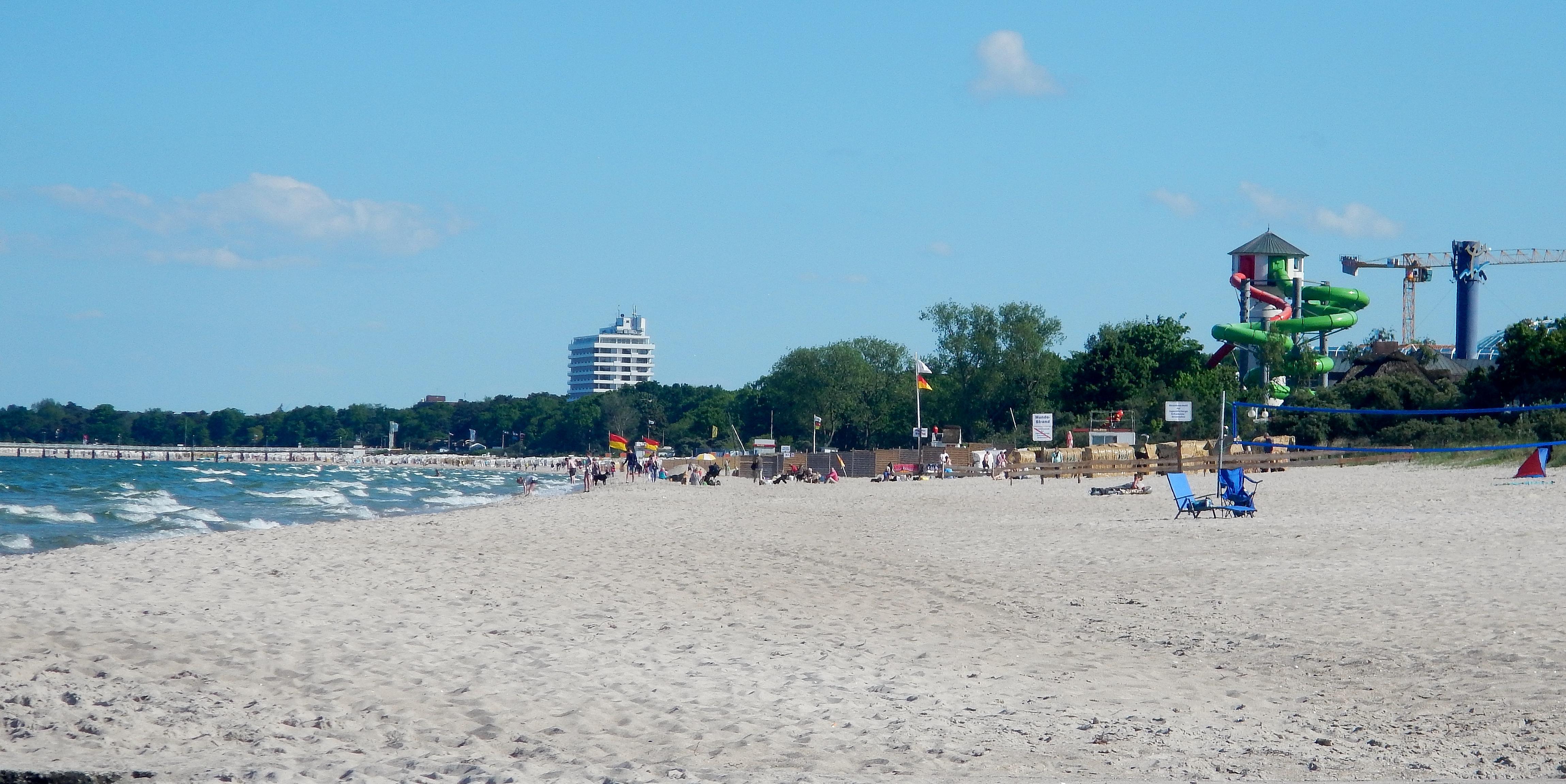 Strandpassage timmendorfer strand