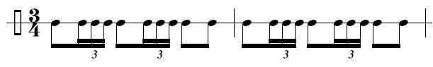 bolero rhythmus
