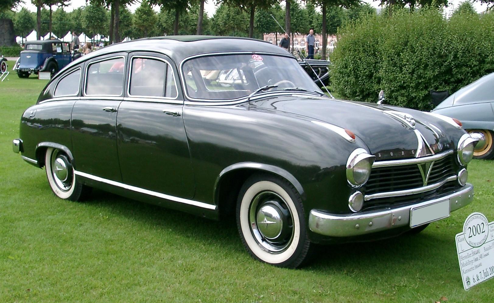 Limousine For Sale >> File:Borgward Hansa 2400 side 20020707.jpg - Wikimedia Commons