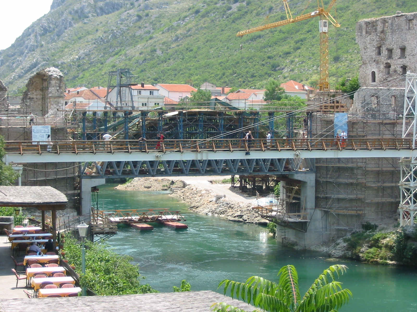 Mostar Bosnia  city photos gallery : Bosnia, Mostar, old bridge 2 Wikipedia, the free ...