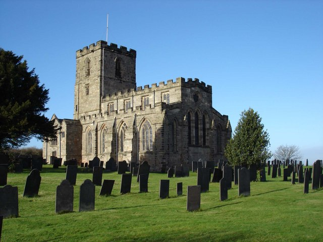 Breedon Priory Church on a sunny winter morning - geograph.org.uk - 288014