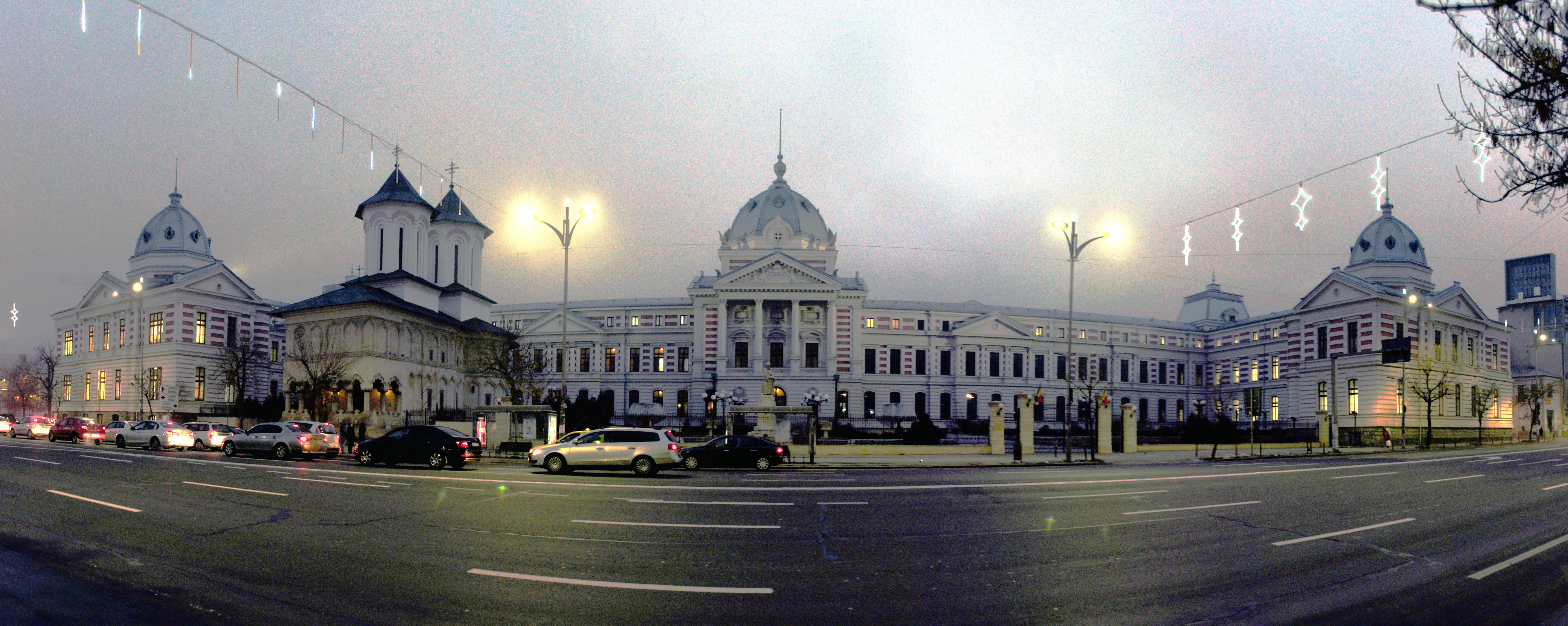 Depiction of Bucarest