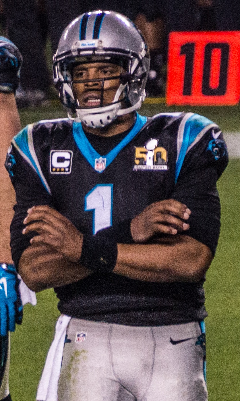 File Cam Newton Super Bowl 50.jpg - Wikimedia Commons ee18d4bec