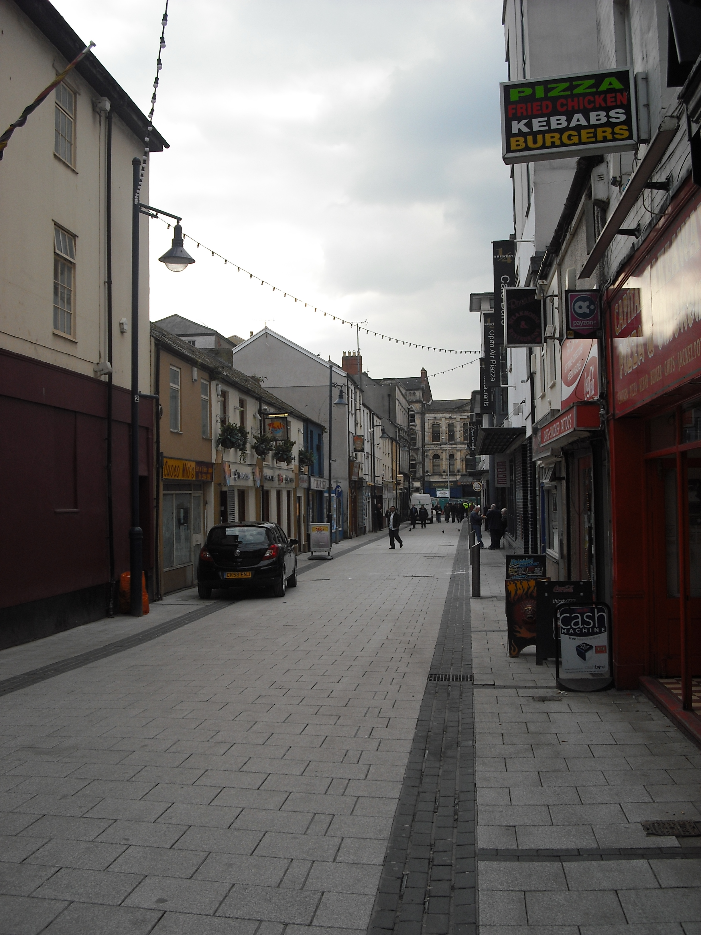 Caroline Street Cardiff Caroline Street Looking South