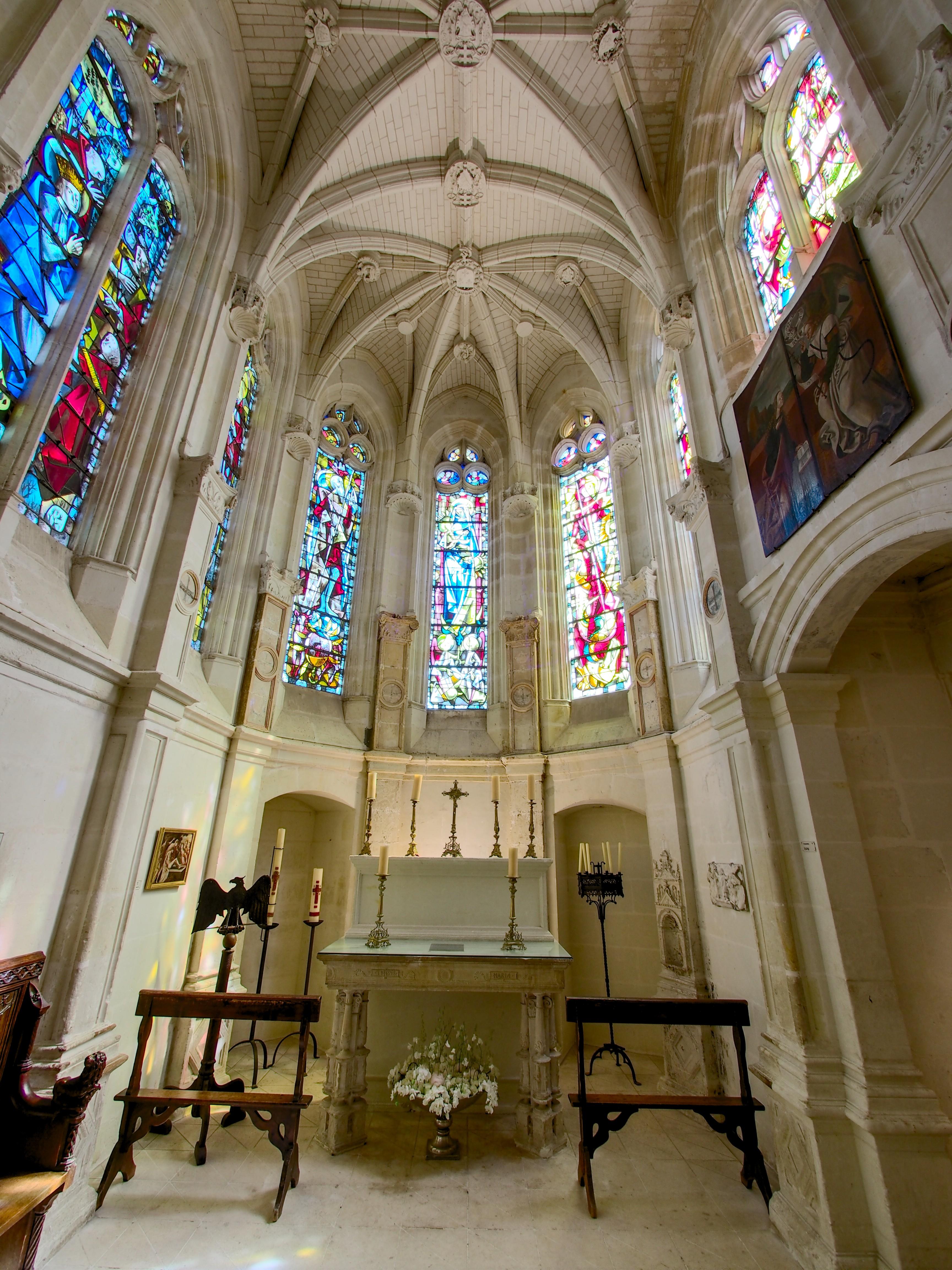 File chapelle ch teau de chenonceau photo for Chateau chenonceau interieur