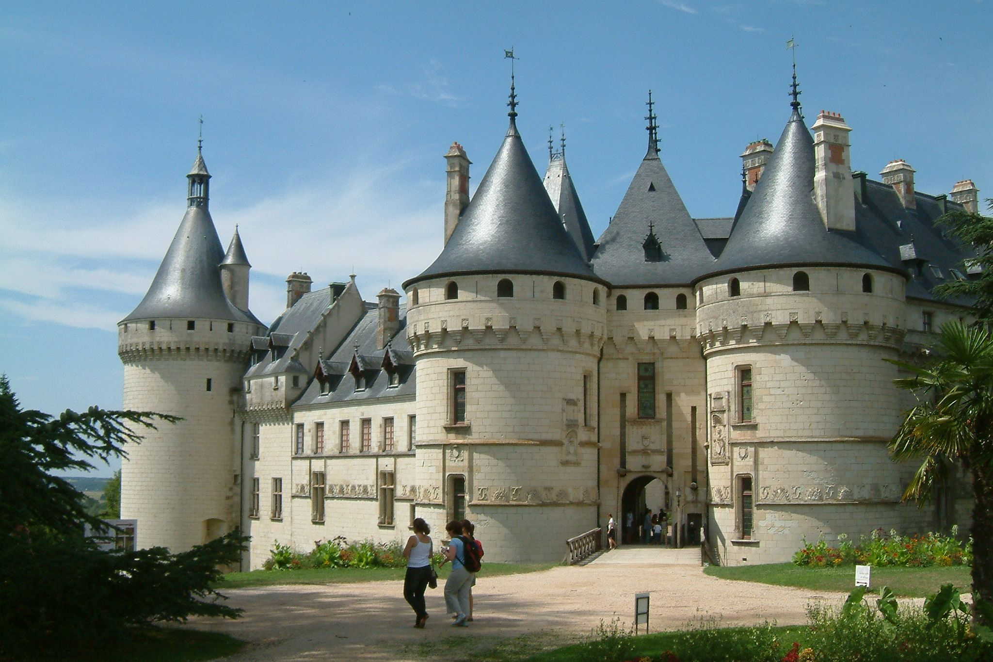 Ch teau de chaumont sur loire wikiwand - Chateau de chaumont sur loire jardin ...