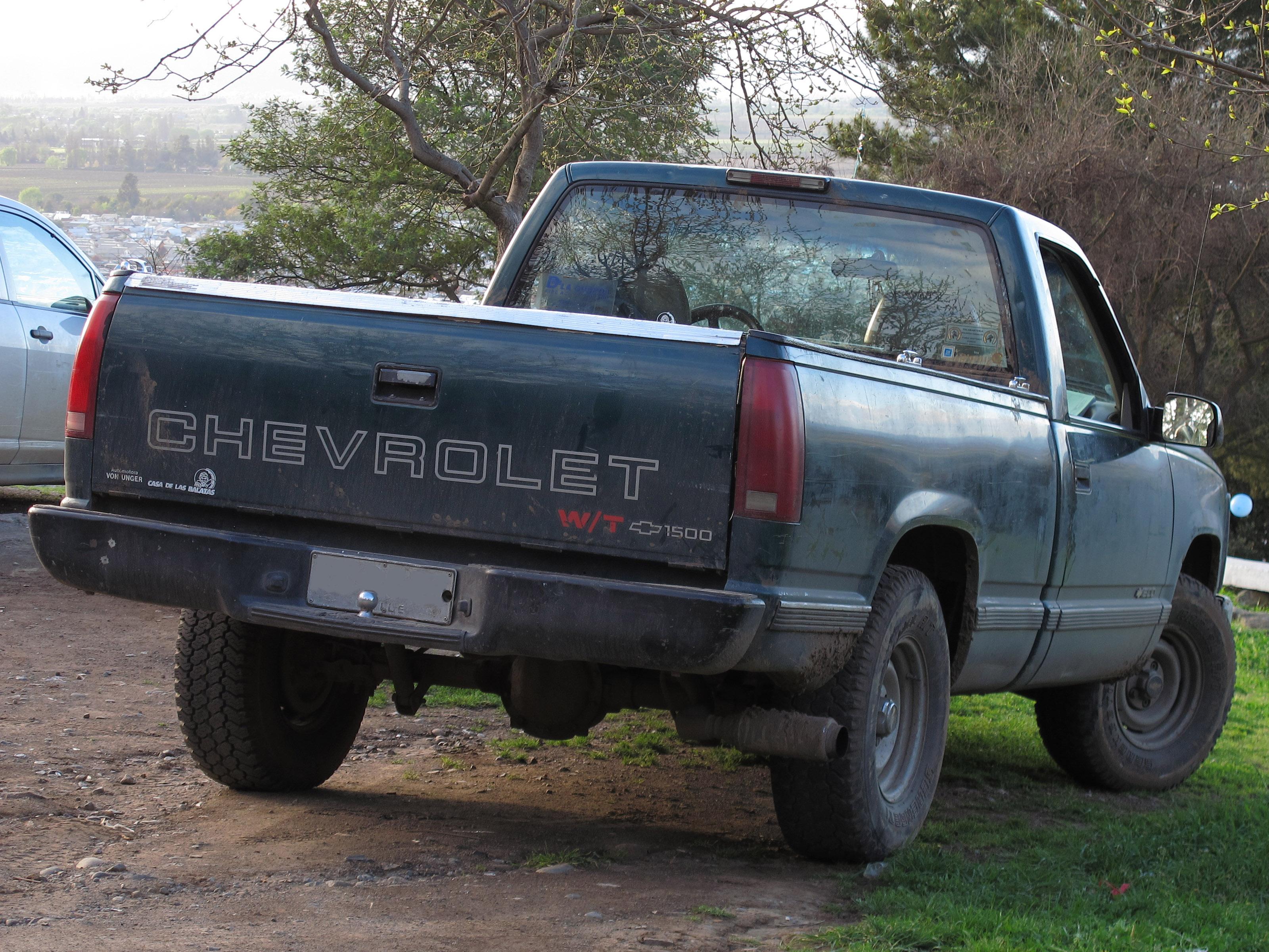 File:Chevrolet 1500 Work Truck 1996 (15228703042).jpg
