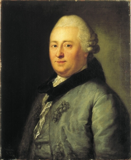 Christian Felix Weiße (1769) by [[Anton Graff