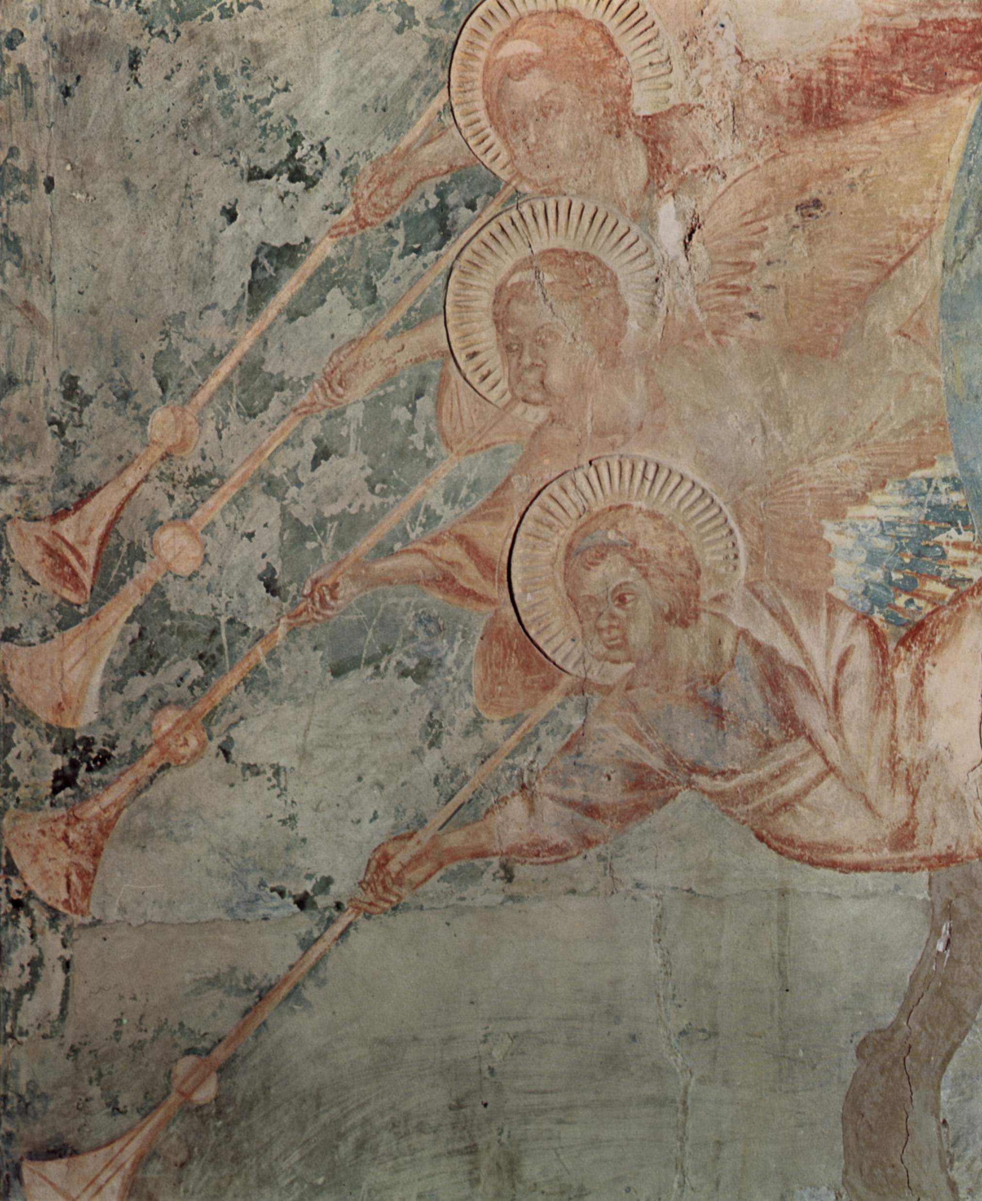 CIMABUE Apocalypse (angels) 1280-83