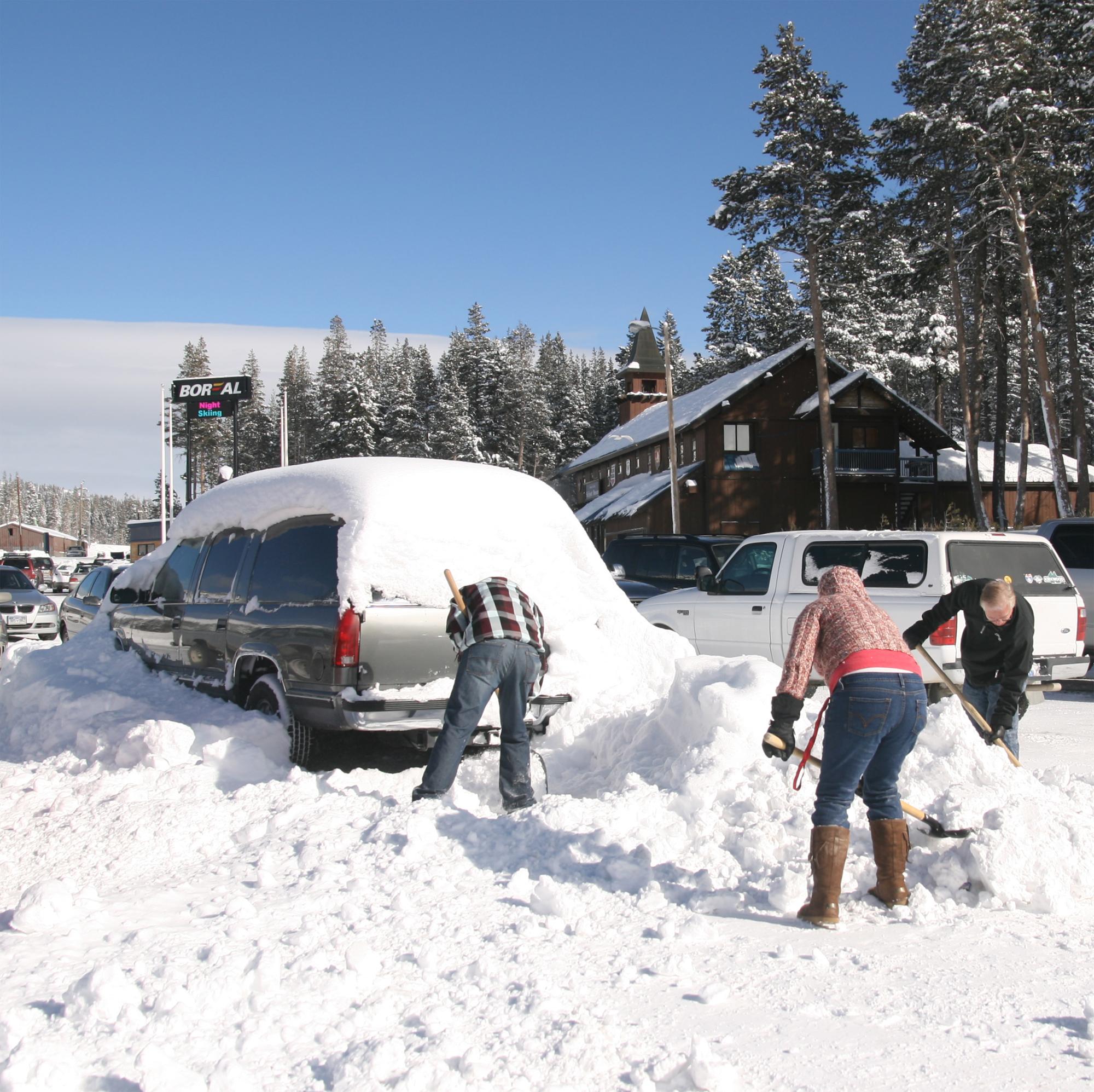 Snow Storm Car Accidents