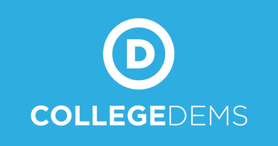 college democrats share their political and social issues on the democratic stance