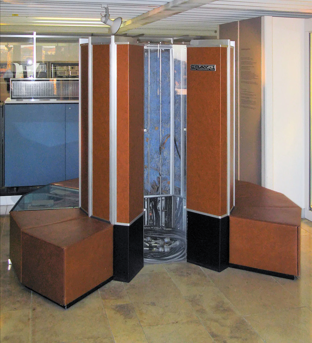 Picture of a Cray 1