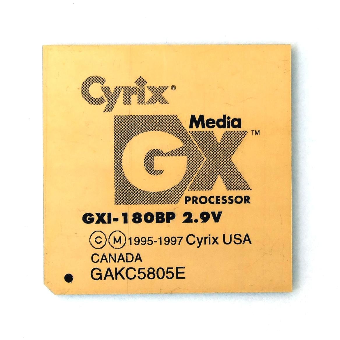 Cyrix Media GX