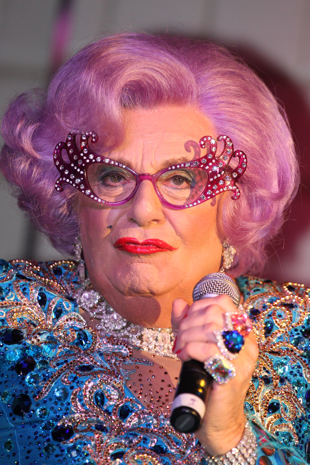 Portrait of Dame Edna Everage